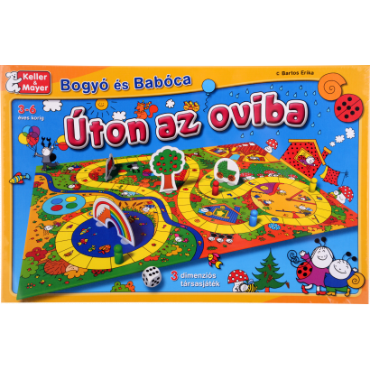 Bogyó és Babóca: Úton az Oviba társasjáték