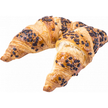 milk choc filled croissant