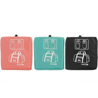 AIRPORT FOLDABLE BOWLING BAG 50L - PINK