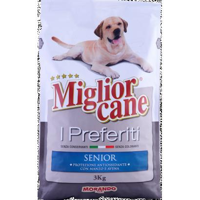Miglior Cane I preferiti kutyaeledel, senior kutyáknak, marha zab ízesítéssel 3kg