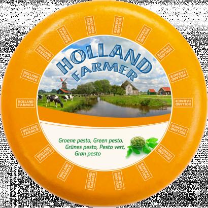 Holland farmer green pesto cheese