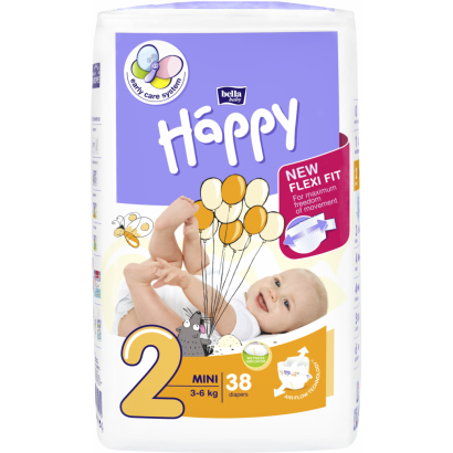 Bella happy baby mini (2-ES) 38 DB