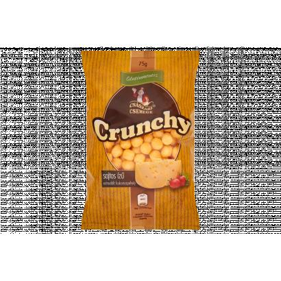 Császári Csemege Crunchy Gluten-Free Cheese Flavoured Extruded Corn Flakes 75 g