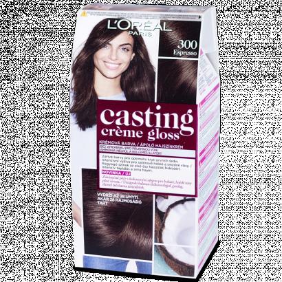 Casting Créme Gloss 300 espresso tartós hajszínkrém