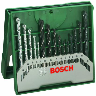 Bosch Mini X line 15 R fúrókészlet