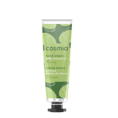 COSMIA HAND CREAM  SHEA BUTTER AND ALMOND 30 ml LAMINATED TUBE