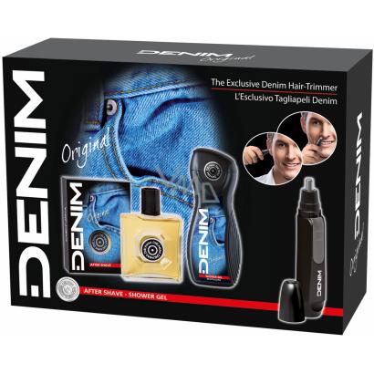 DENIM  Set Wild ASL 100 ml + SG 250 ml + Hair trimmer