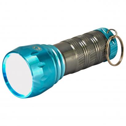 AUC LED ALUMINIUM COMPACT FLASHLIGHT, 1PC