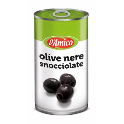 Fekete magozott olívabogyó 350 g / 150 g