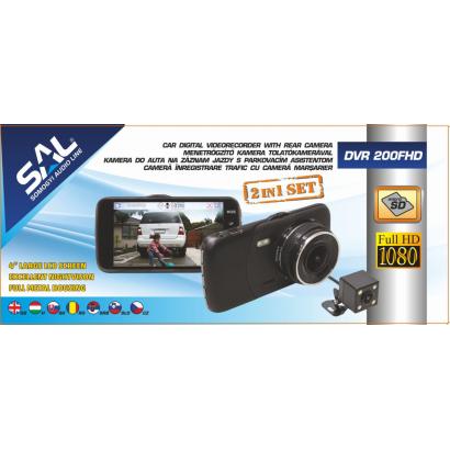 Car digital videorecorder with rear camera