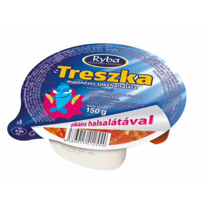 Ryba Sharp Treszka Mayonnaise Cod Fish Salad 140 g