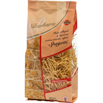 Barbara Homemade-type Gluten-free 10-eggs small noodles Spaghetti