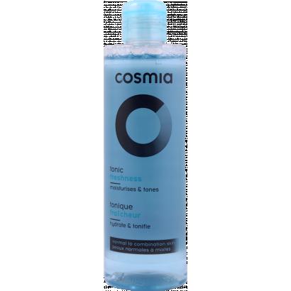 COSMIA TONER - NORMAL TO COMBINATION SKIN - WITH ALOE VERA EXTRACT / 250ML