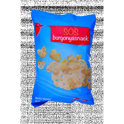 Auchan sós burgonya snack 50 g