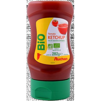 Auchan Bio ketchup 282 g