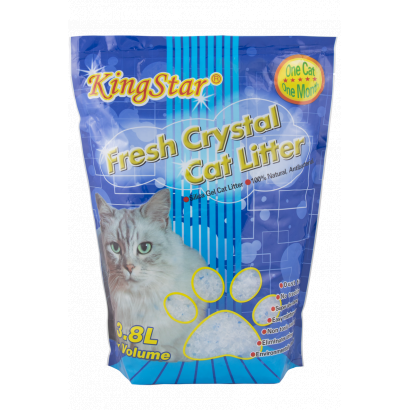 Kingstar Cat litter, silic, 3.8 l