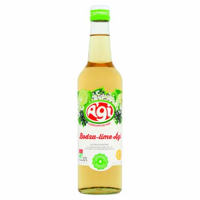 Ági Bodza-Lime Ági Elder Flower-Lime Flavoured Syrup 0,7 l