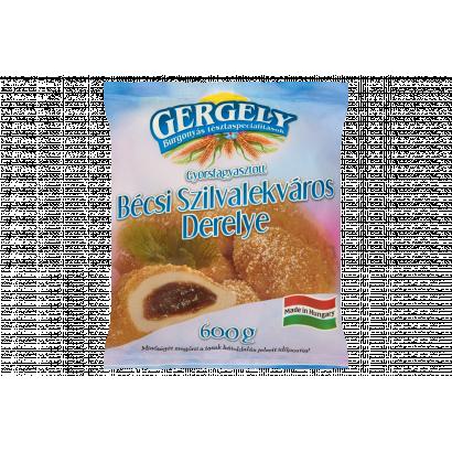 Gergely Burgonyás Tésztaspecialitások Quick-Frozen Wiener Plum Jam Pastry 600 g