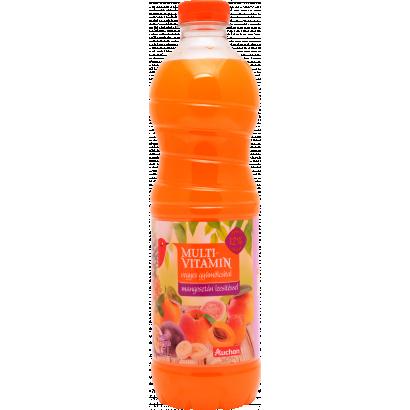 Auchan multivitamin vegyes gyümölcsital mangosztán ízesítéssel 1,5 l