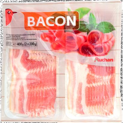 Auchan Nívó Bacon 2X200G
