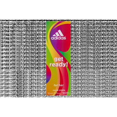 Adidas Get Ready! női eau de toilette 50 ml