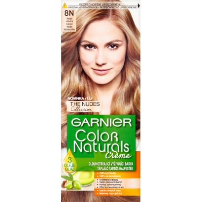 Garnier Color Naturals Creme 8N Természetes Világosszőke tápláló tartós hajfesték