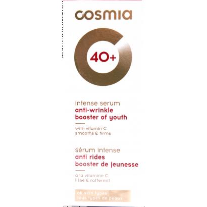 COSMIA ANTI-WRINKLE  SERUM  / all skin types, anti-wrinkles / AGE 40 + /  30ML