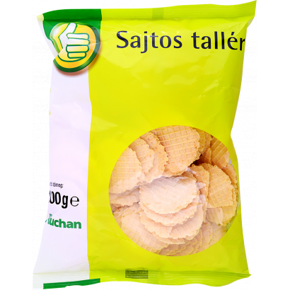Cheesy waferscrisp, salted 100g