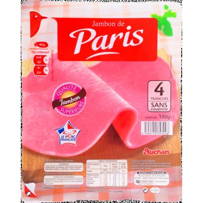 Auchan Jambon de Paris sonka 180 g