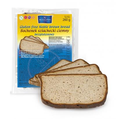 Bezgluten gluten free Noble brown bread