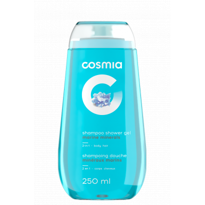 COSMIA SHAMPOO AND SHOWER GEL 2 IN 1 MARINE MINERALS 250 ML
