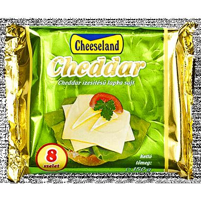Cheeseland lapka sajt cheddar 150 g