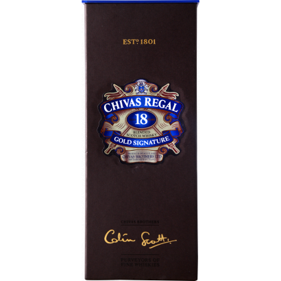 CHIVAS REGAL 18 YEARS OLD SCOTCH WHISKY 0,7L