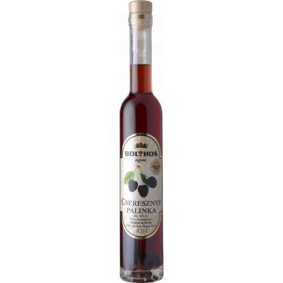 BOLYHOS CHERRY BRANDY AGED ON FRUIT- BED 0,35 L