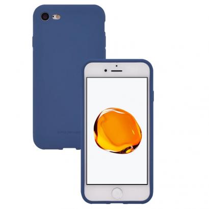 Hana Huawei Y5 matt kék szilikon hátlap
