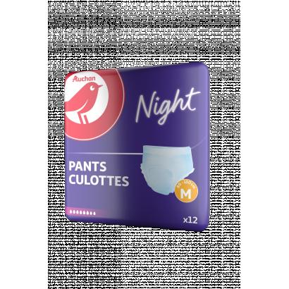 Auchan nadrágpelenka  médium éjszakai deréklbőség 80Nívó130 cm 12  db