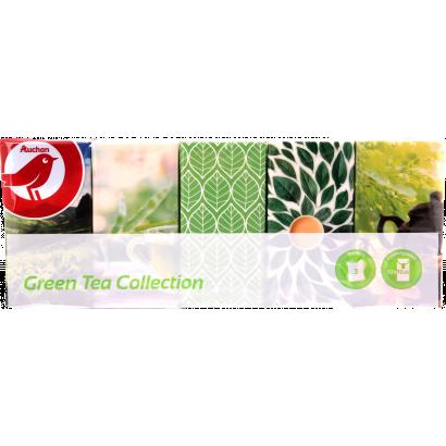 Auchan Nívó zöld tea illatú 3 rétegű papír zsebkendő 10 x 10 csomag