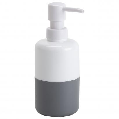 Actuel műanyag szappanadagoló, szürke/fehér