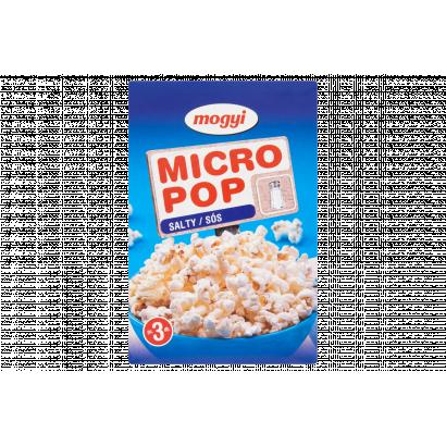 Mogyi Micro Pop sós popcorn 3 x 100 g