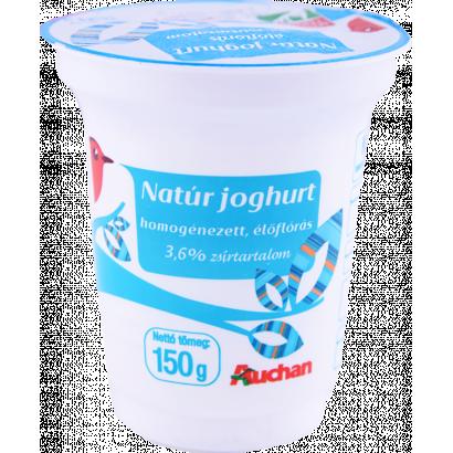 AUCHAN NATUR YOGURT 150G
