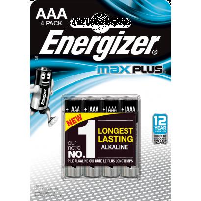 Energizer Max Plus Mikroelem 4 db AAA