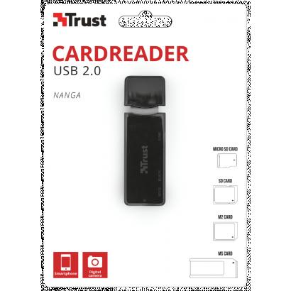 Trust Nanga USB 2.0 Cardreader