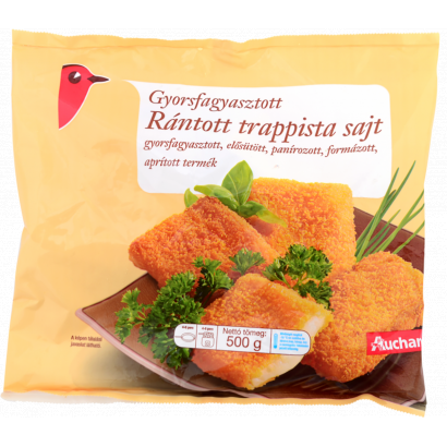 Frozen Breaded with cheese