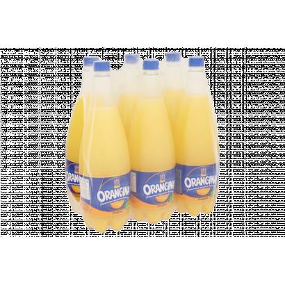 Orangina szénsavas narancsos üdítőital narancs rosttal 1,4 l