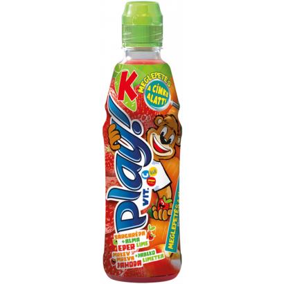 Kubu Play! Carrot-Apple-Strawberry-Lime Drink 400 ml