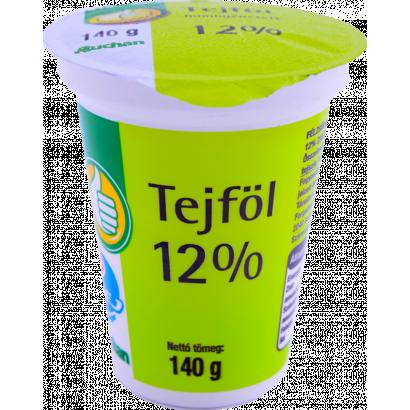 Tuti Tipp tejföl 12% 140g