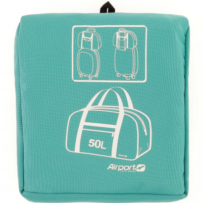 AIRPORT FOLDABLE BOWLING BAG 50L - BLUE