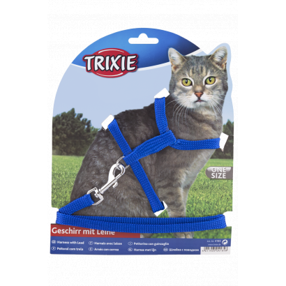 Harness and leash for cats 22-42