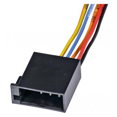 Car radio power plug