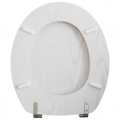 Actuel Fehér furnér WC ülőke
